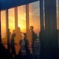 Photos: 夕日に染まる刻