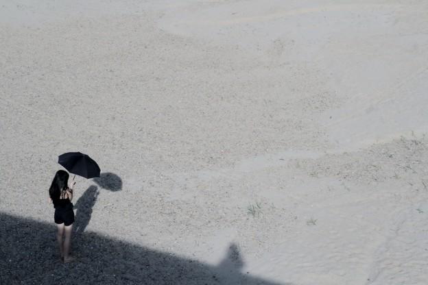 Photos: 乾いた砂