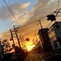 Photos: 朝焼けの空
