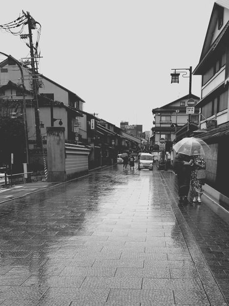 Photos: 冬に降る雨