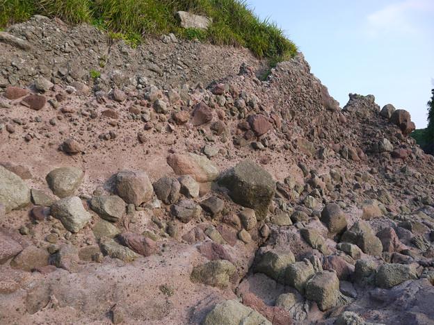 人形岩付近