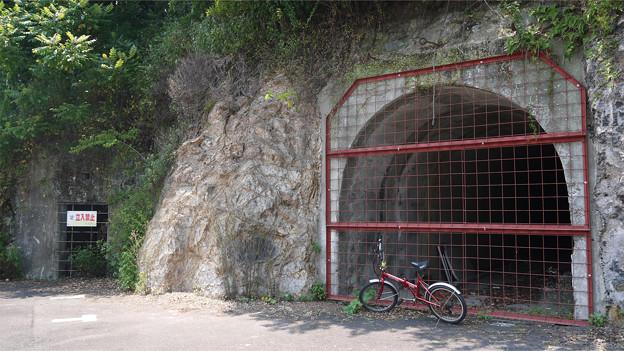 濃霞山山麓、佐伯重工業横のトンネル