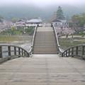 Photos: 桜の錦帯橋。曇り・・・(21)