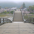 桜の錦帯橋。曇り・・・(21)