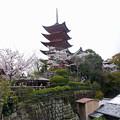 宮島・光明院前から五重塔へ向かう(3)