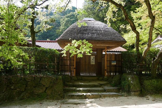 仁比山神社(5)九年庵入口