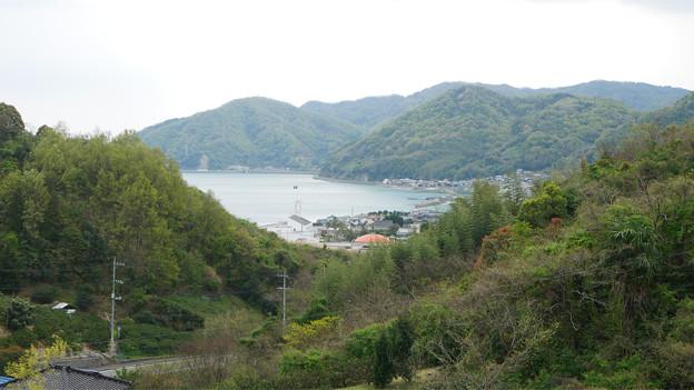 因島大橋(2)因島大橋の遊歩道から見た景色