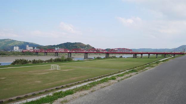 四万十川橋(赤鉄橋)
