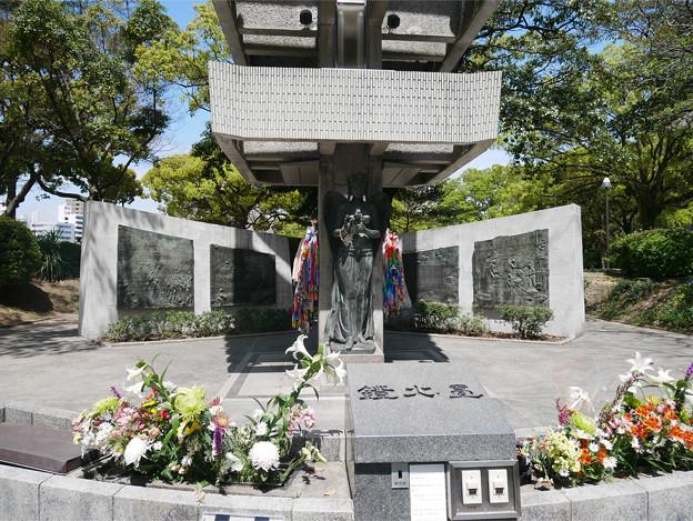 広島平和記念公園@2018 (15) 動員学徒慰霊塔