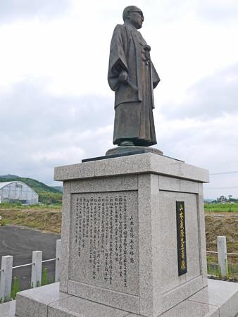 宮若市六郎丸交差点・山本義隆先生壽像 (5)