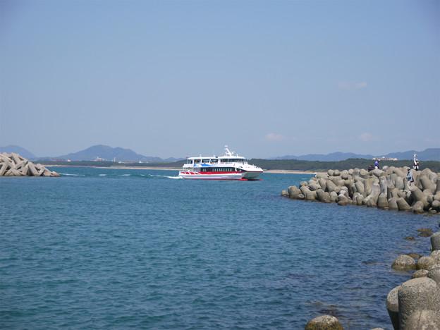 相島 (2) 新宮港のフェリー乗り場