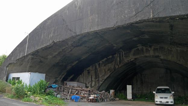 宮崎市本郷地区の掩体壕 2 (4)