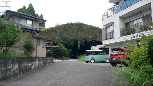 写真: 宮崎市本郷地区の掩体壕 1 (1)
