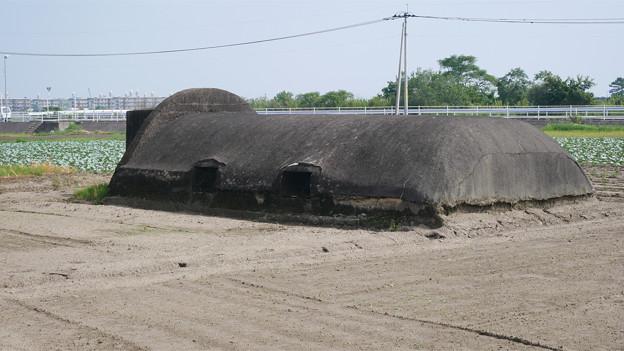 赤江飛行場の弾薬庫跡 (12)