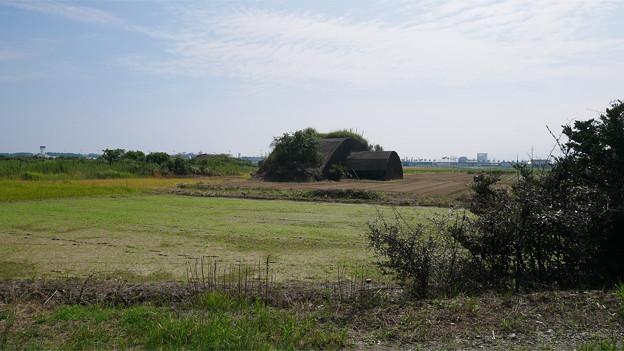 写真: 宮崎空港横の掩体壕 6号基 (1)