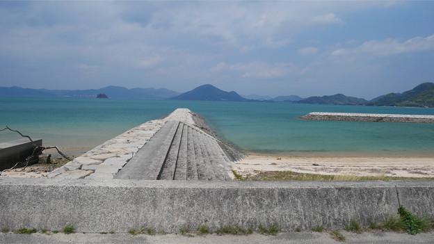 瀬戸内海の美しい海 大三島にて (3)