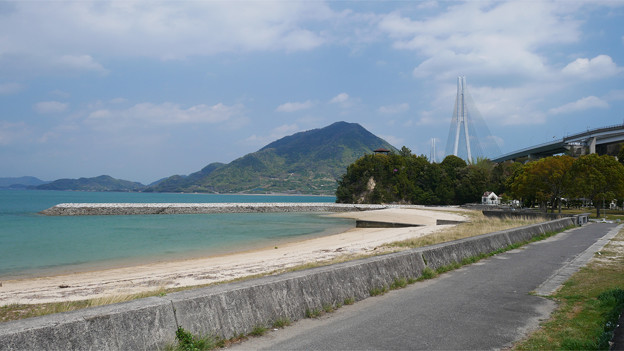 瀬戸内海の美しい海 大三島にて (2)