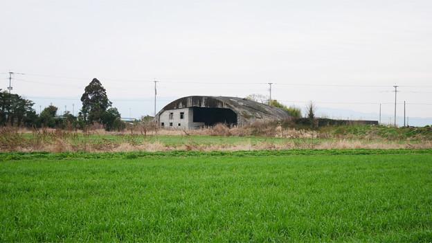 大刀洗飛行場の掩体壕 (9)