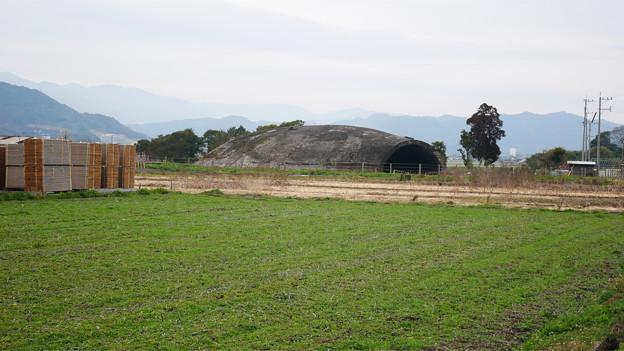 大刀洗飛行場の掩体壕 (8)