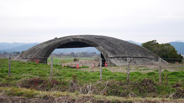 大刀洗飛行場の掩体壕 (6)