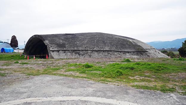 大刀洗飛行場の掩体壕 (4)