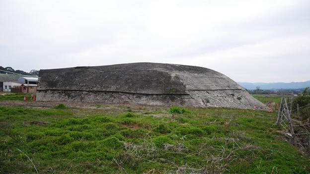 大刀洗飛行場の掩体壕 (3)