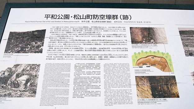 平和公園・松山町防空壕群跡 (1)