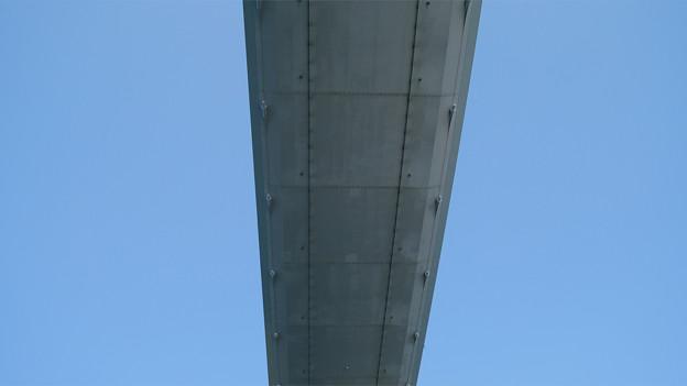 長崎港ターミナルから軍艦島クルーズ (9) 女神大橋