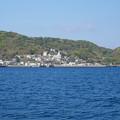 軍艦島クルーズから見た聖ミカエル天主堂