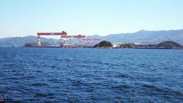三菱重工長崎造船所 香焼工場 (3)