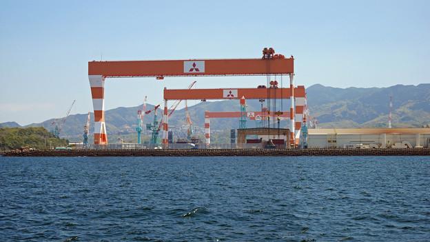 三菱重工長崎造船所 香焼工場 (2)