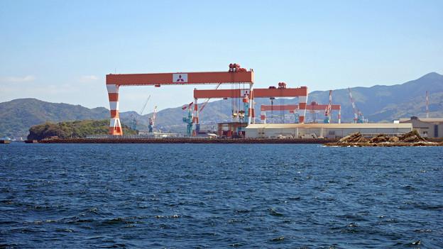 三菱重工長崎造船所 香焼工場 (1)