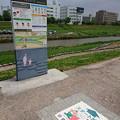 飯塚市河川敷ウォーキングコース