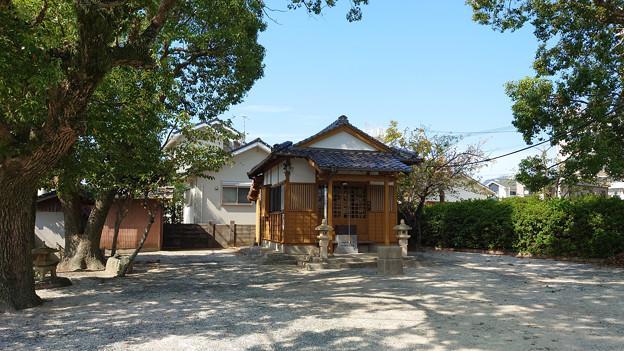 糸島市・火伏地蔵尊 (4)