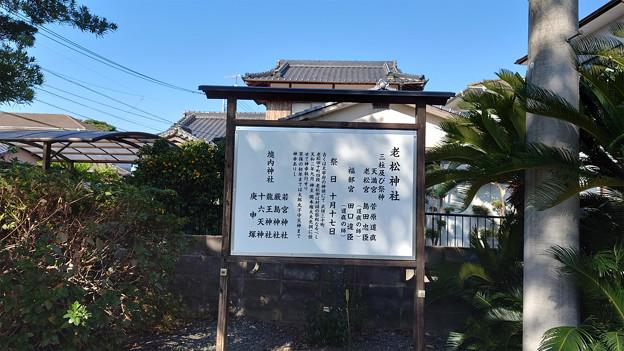 波多江地区の老松神社 (4)