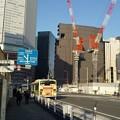 大阪駅前にて