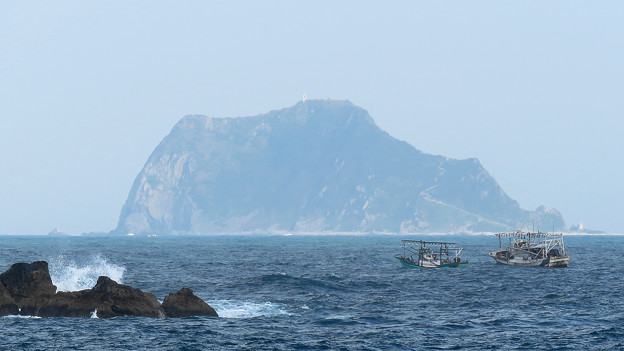 遠眺基隆嶼