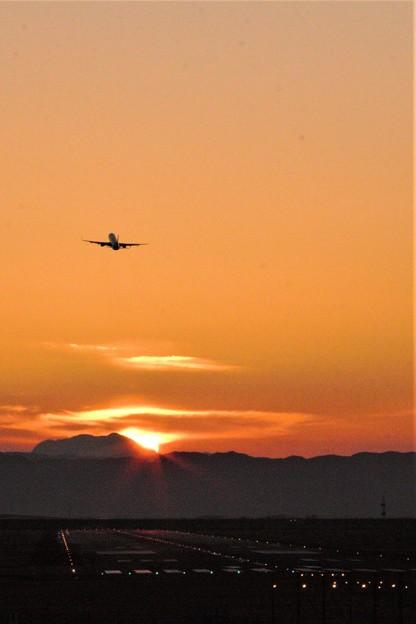 早朝の始発便