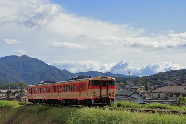 Photos: キハ66・67唐津線走る