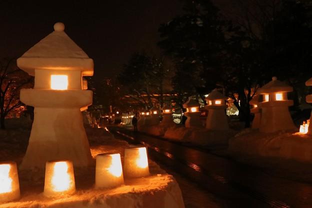 雪灯籠まつり
