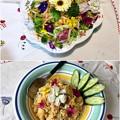 Photos: 花を食べる