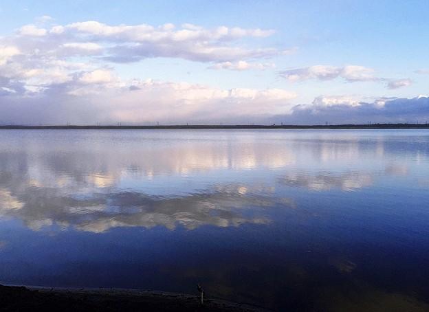 ウユニ湖のよう