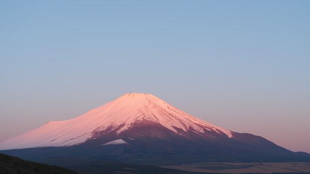 霊峰赤富士