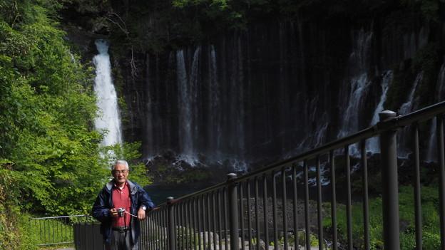 Photos: デカい滝です