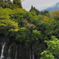 Photos: 白糸の滝と富士山