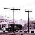 ~ドームと相生橋と路面電車と・・~