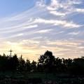 夕暮れの秋空 11