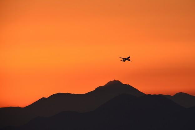 雲仙と飛行機