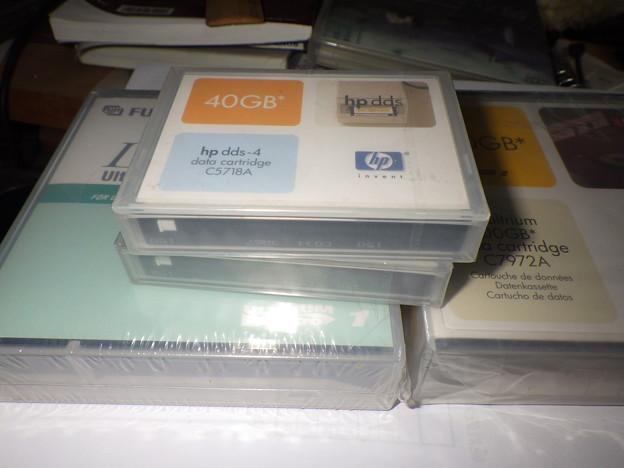 DAT(40GB)テープカートリッジ