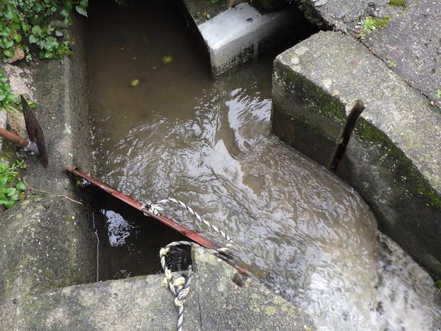 平井宅前サブタ放水